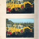 Old JCB's in our yard 1988