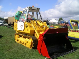 JCB 110 at Bronte Vintage Gathering, Cullingworth
