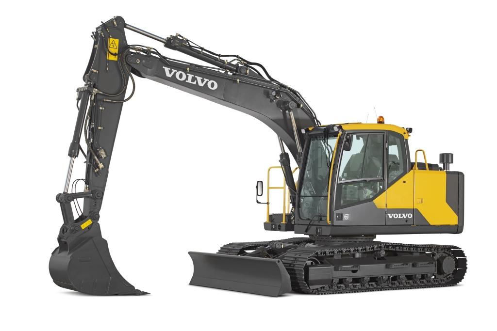 Volvo Ec140el Tracked Excavator Bunton Plant Hire