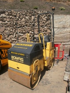 Bomag BW80 roller